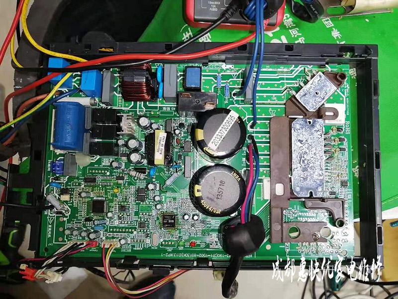 美的变频空调维修